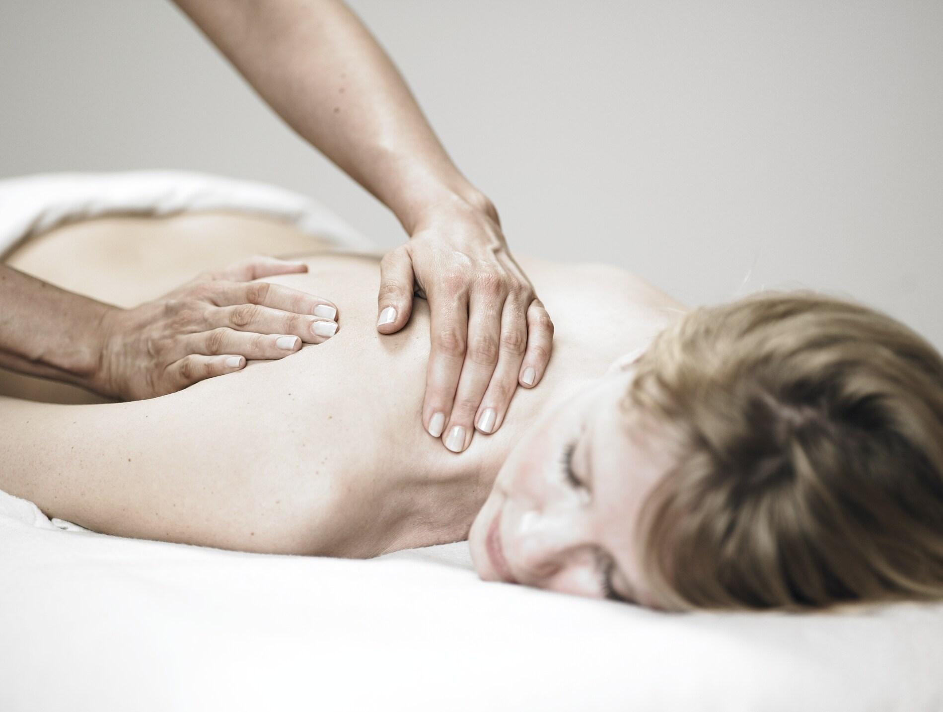 Afspændende massage